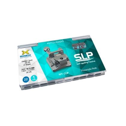 10.13.900 Kit Bráquete Roth Slp Autoligavel Slot 0.22 c/ Gancho 1 Caso Morelli