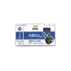10.15.906 Kit Bráquete Roth Nano 9 Ang. c/ Gancho Slot 0.22 1 Caso Morelli