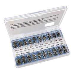 10.15.934 Kit de Braquetes Roth Max 13 Ang. c/ Gancho Slot 0.18 10 Casos - Morelli