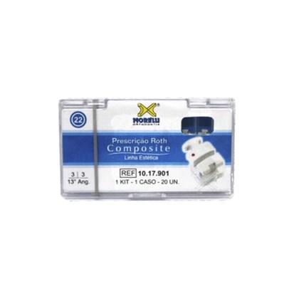 10.17.901 Kit de Braquetes Roth Composite c/ Gancho Slot 0.22 1 Caso Morelli