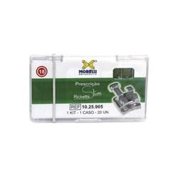 10.25.905 Kit de Braquetes Ricketts Slim Slot 0.18 1 Caso Morelli