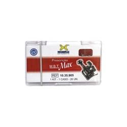 10.35.905 Kit de Braquetes M.b.t. Max c/  Gancho Slot 0.22 1caso Morelli