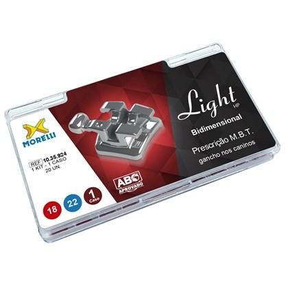 10.35.924 Kit de Braquetes Mbt Light HP Bidimensional Slot 018/022 - Morelli