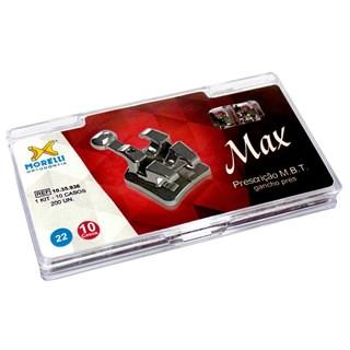 10.35.936 Kit de Bráquete Prescrição MBT Max c/ Gancho 10 Casos Slot 0.22 - Morelli