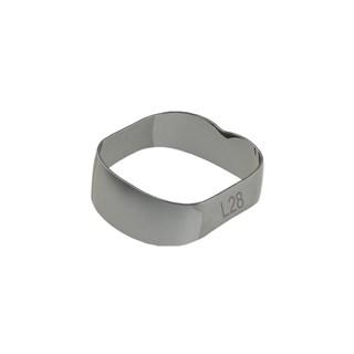 40.01.280 Banda Ortodontica Universal - 1 e 2 Molares I/De 28,0mm c/ 10 Morelli