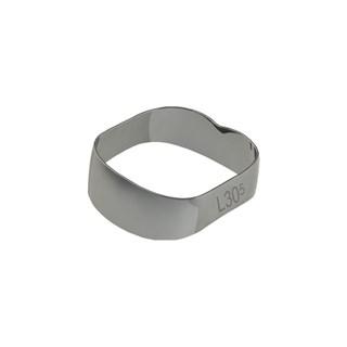 40.01.305 Banda Ortodontica Universal - 1 e 2 Molares I/De 30,5mm c/ 10 Morelli