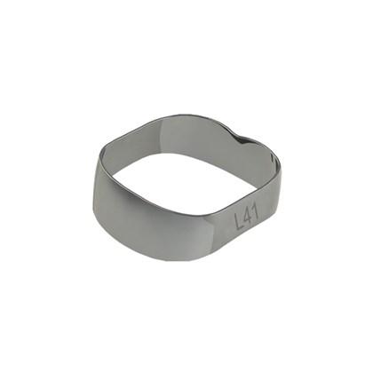 40.01.410 Banda Ortodontica Universal - 1 e 2 Molares I/De 41,0mm c/ 10 Morelli