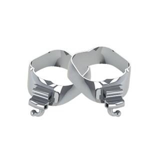 47.10.012 Banda Ortodontica 34,5 Rl/Ll Com Tubos 20.10 221/222 Morelli