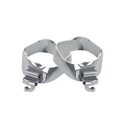 47.10.016 Banda Ortodontica 36,5 R1/L1 c/  Tubos 20.10.221/222 Morelli