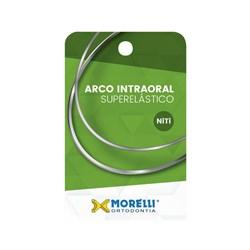 50.72.011 Arco Superelastico Inf/Sup(m) Niti 16x22 c/ 10 Morelli