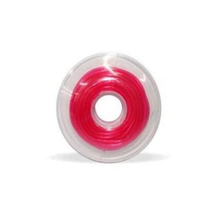 60.05.404 Tubo de Proteção Plastico Pink Cristal 0.95mm