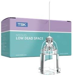 Agulha Hipodérmica Low Dead Space 0.24(33G) 9mm (3/8) c/100 - TSK
