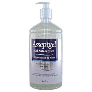 Álcool Gel Asseptgel Cristal Aloe Vera 70% 440g - Start
