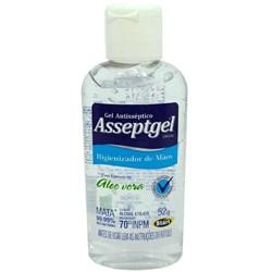 Álcool Gel Asseptgel Cristal Aloe Vera 70% 52G - Start