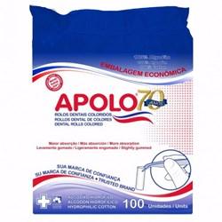 Algodão Rolete Apolo c/ 100