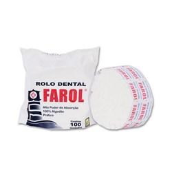 Algodao Rolete c/ 100 Branco Farol