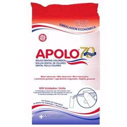 Algodão Rolete Colorido Kit c/ 6 Pct - Apolo
