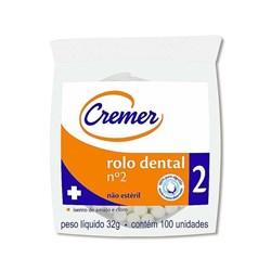 Algodao Rolete Cremer Tipo Ii c/ 100