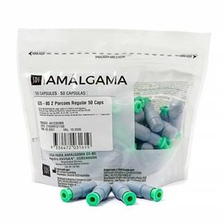Amalgama Gs 80 2p Regular c/ 50 Cap Sdi