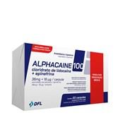 Anestesico Lidocaina 100 (alphacaine) c/ 50 Nova Dfl