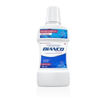 Antiss?ptico Bucal Advanced Repair sem ?lcool 500ml - Bianco