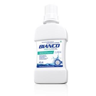 Antiss?ptico Bucal Pro Clinical sem ?lcool 500ml - Bianco