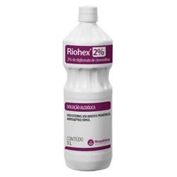 ANTISSEPTICO TOPICO RIOHEX 2% SOLUCAO ALCOOLICA 1L RIOQUIMICA