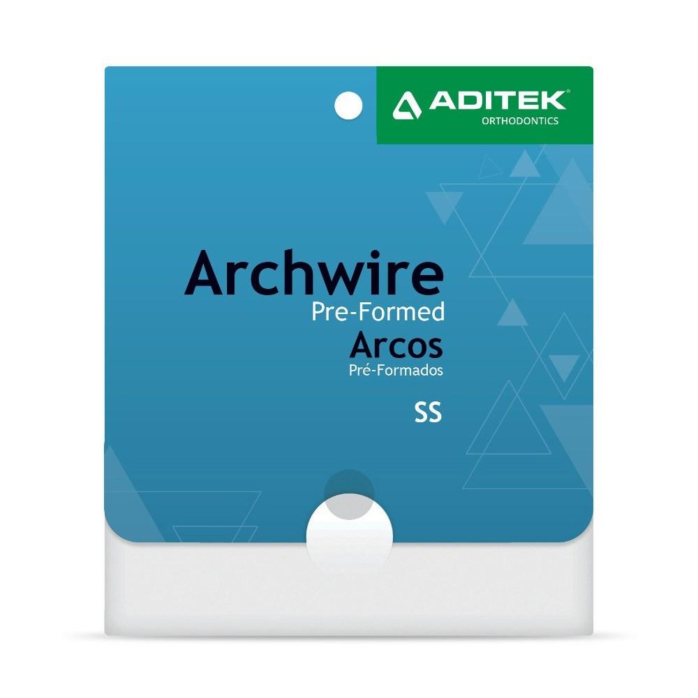 Arco Aço Natural Superior c/ 10 - Aditek