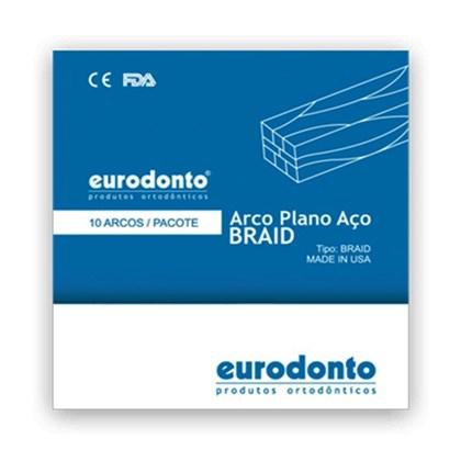 Arco Aço Plano Braid - Eurodonto