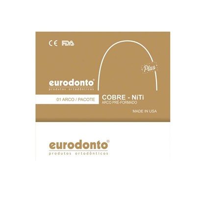 Arco Cobre Niti Universal Plus Redondo 27 17x25 Eurodonto