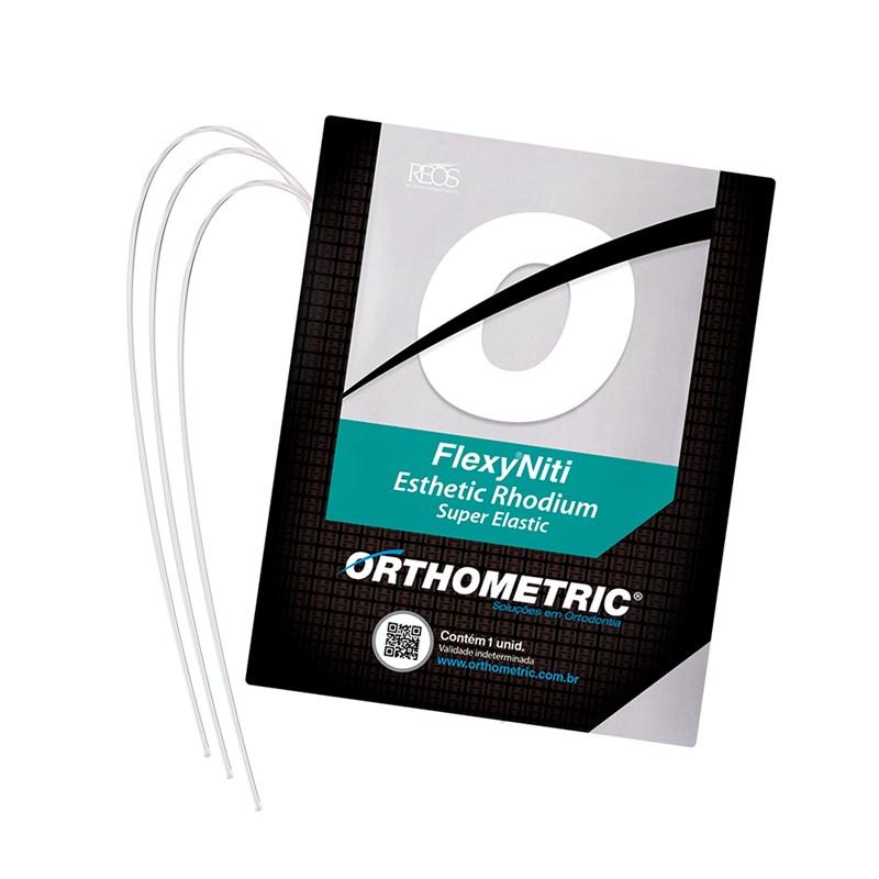 Arco Flexy NiTi Esthetic Rhodium Super Elastic - Retangular