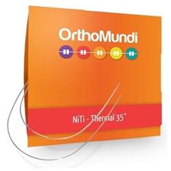 Arco Niti Termoativado 21x25 Superior C/10 - Orthomundi<br /> <br />