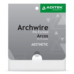 Arco Nitinol Estético Natural c/ 1 - Aditek