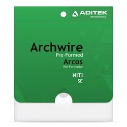 Arco Nitinol Superelástico Natural Superior c/ 10 - Aditek