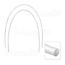 Arco Nitinol Termo Ativado Superior Redondo 018 c/ 10 Abzil