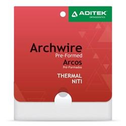 Arco Nitinol Termoativado Natural c/ 10 - Aditek