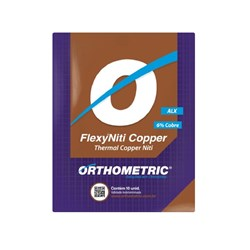 Arco Pre Contornado Flexy Niti Copper Alx 14x25 Sup 51.47.2514 Orthometric
