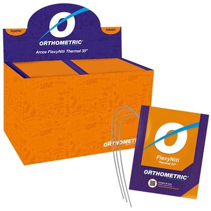 Arco Pré-Contornado Flexy Thermal Smart Redondo Kit c/ 100 Dezenas 51.35.2800 - Orthometric