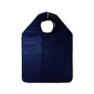 Avental de Borracha Plumbif c/ Prot de Tireoide Azul Marinho - N Martins