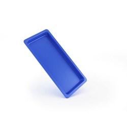 Bandeja Plástica Autoclavável Azul 22 X 09 X 1,5 Maquira