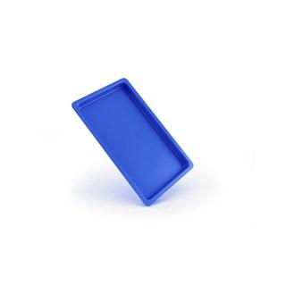 Bandeja Plastica Autoclavavel Azul 22x12x1,5 - Maquira