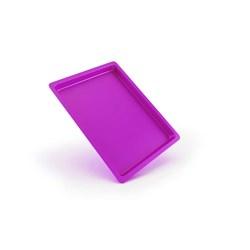 Bandeja Plastica Autoclavavel Rosa 24 X 18 X 1,5 Maquira