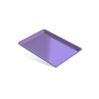 Bandeja Plastica Grande Lilas 22,5 X 16,5 X 1,5 Indusbello