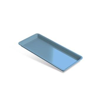 Bandeja Plastica Pequena Azul 22,5 X 10,5 X 1,5 Indusbello