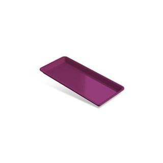 Bandeja Plastica Pequena Rosa 22,5 X 10,5 X 1,5 Indusbello
