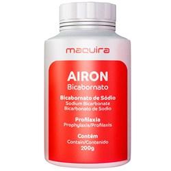 Bicarbonato de Sodio 200g Morango Airon Maquira
