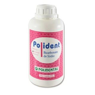Bicarbonato de Sodio 500g Morango Polidental