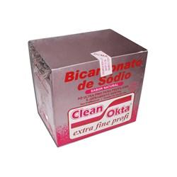 Bicarbonato de Sodio Morango c/ 15 Env de 40g Clean-Okta