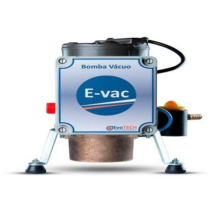 Bomba de Vácuo Odontológica E-Vac Motor 1/2HP-450MMHG Evotech