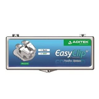 Br?quete Autoligado EasyClip+ Passivo 1 Caso Slot 0.22 - Aditek